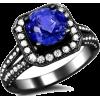 Prsten Rings Blue - Rings -