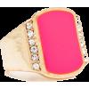 Prsten Rings Pink - Rings -