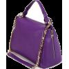 purple bag - Hand bag -