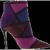 purple boots1 - Stiefel -