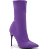 purple boots - Čizme -