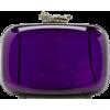 purple clutch - Clutch bags -