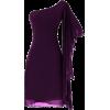 purple dress1 - Vestidos -