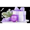 purple gift - Items -
