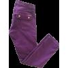 purple jeans - Dżinsy -