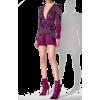 purple jumpsuit1 - Kleider -