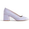 purple pumps - Sapatos clássicos -