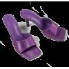 purple sandals - Sandals -