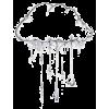 rainy clouds - Illustrations -
