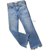 raw edge flare retro jeans - Jeans -