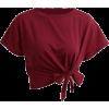 rec crop top - T-shirts - $20.00