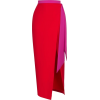 red and pink skirt - Юбки -