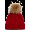 red beanie - Mützen -