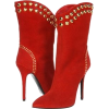 red booties - Stiefel -