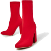 red boots - Stiefel -