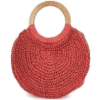 red circle bag - Hand bag -