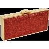 red clutch - Clutch bags -