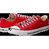 red converse - 球鞋/布鞋 -