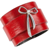 red cuff bracelet - Bracelets -
