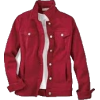 red denim jacket - 外套 -