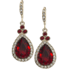 red earrings - Earrings -
