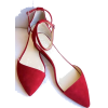 red flats - Balerinas -