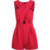 red jumpsuit - Overall -