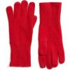 red knit gloves - Manopole -