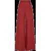 red pants2 - Spodnie Capri -