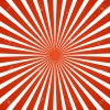 red rays sunburst illustration - Illustrations -