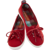 red slip ons - Flats -