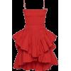 red summer dress - Kleider -