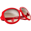 red sunglasses - Sunglasses -