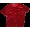 red velvet t shirt - T-shirts -