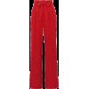 red wide leg pants - Capri & Cropped -