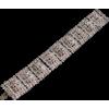 #rhinestone #bracelet #vintage #jewelry - Bracelets - $39.50