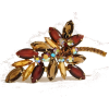 #rhinestone #brooch #vintage #jewelry - Other jewelry - $79.00