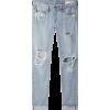 ripped jeans - Capri hlače -