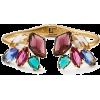 rock it open hinged cuff - Bracelets -