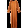 rodebjer orange silk maxi dress - Dresses -