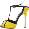 Roger Vivier Yellow - Sandale -