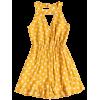 Sleeveless Ruffles Polka Dot Romper - Overall - $20.99