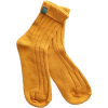 romwe mustard socks - Uncategorized -