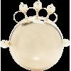 rosantica-ss19 mickey-gold-tone-faux-pea - Clutch bags -