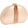 rose gold tassel clutch is a beauty. - Clutch bags -