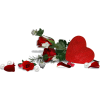 rose heart red valentine - Predmeti -