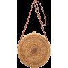 round straw bag - Borsette -