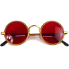round sunglasses - Occhiali da sole -