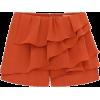 ruffle shorts - Shorts -