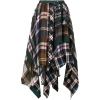 sacai plaid pleated skirt  - Skirts - $1,225.00